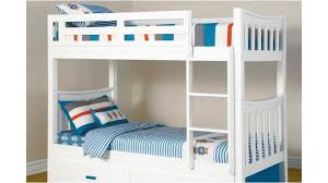 Melody King Single Bunk Bed Kids Beds  Suites Harvey Norman - King single bunk beds
