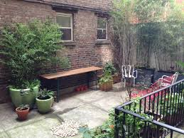 nine nyc stores with bangin u0027 backyards patios and roof decks