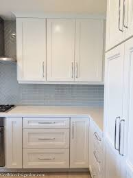 Do Kitchen Cabinets Go In Before Flooring Kitchen Remodel Using Lowes Cabinets Cre8tive Designs Inc