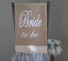 bridal shower chair etsy wedding decorations ideas bridal shower chair cover