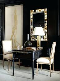 appealing black and gold desk for home design custom residence