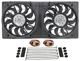 5000 cfm radiator fan derale 29 high output electric radiator fan and shroud assembly