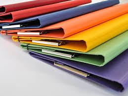 colorful presentation clip folder u2013 jenni bick bookbinding