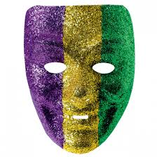 mardi mask mardi gras glitter mask wally s party factory