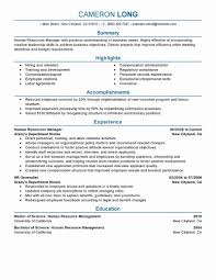 resume text exles exles of human resources resumes lovely best human resources