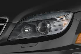 mercedes headlights at night 2012 mercedes benz c class 2010 detroit auto show automobile