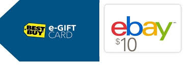 best gift card now a best buy egift card comes with a free 10 ebay gift card
