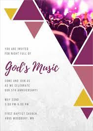 invitation letter for church event letter idea 2018