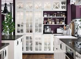 ikea kitchen cabinets glass brighten up your home with open white classics ikea