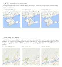 China Google Maps by See How Google Displays Disputed Borders Worldwide