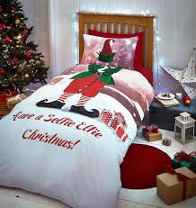 Christmas Duvet Cover Sets Selfie Elfie Duvet Set Christmas Duvet Cover Set Connollys