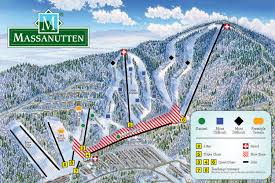 Snow Map Usa by Massanutten Ski Resort Trail U0026 Snow Conditions Report Va