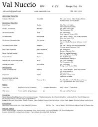 Singer Resume Example by Singer Songwriter Resume Examples Virtren Com