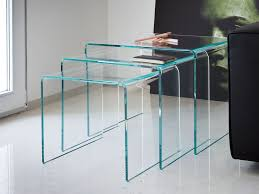 coffee table extraordinary glass nest of tables nesting tables