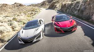 wallpaper acura nsx honda nsx 2017 acura nsx red and white front hd wallpaper 12