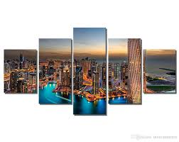 modern wall art painting canvas prints frames picture of dubai uae