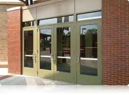 Exterior Aluminum Doors Aluminum Doors Entrances Framing And Windows Tubelite Inc