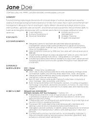 Example Internship Resume by Resume Writer Entertainment Industry Resume Templates