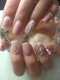 simple and elegant nails by chikkitas nails love the sparkly