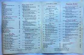 peruse six beautiful vintage menus from long lost austin