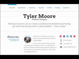 Make A Quick Resume Online by Create A Résumé Website In Wordpress Youtube
