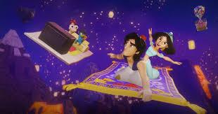 aladdin jasmine join cast u0027disney infinity 2 0 u0027