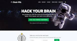 website redesign case study of brainwiz org digitalux