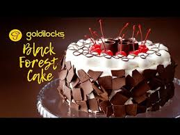 goldilocks black forest cake youtube