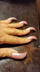 best 25 curved nails ideas on pinterest short ballerina nails