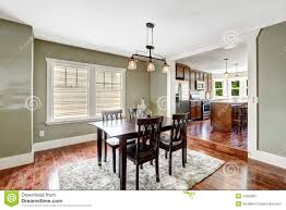 Cozy Dining Room by Mint Tone Dining Room Stock Photo Image 47579460
