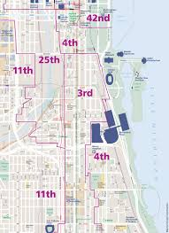 Chicago Area Code Map by Chicago Business Resources
