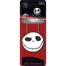 nightmare before rear view mirror ornament