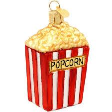 popcorn glass ornament old world christmas ornaments christmas