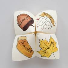 thanksgiving interactive thanksgiving cootie catcher darcy miller designs