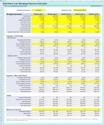 Amortization Calculator Excel Template Free Mortgage Split Home Loan Repayments Calculator