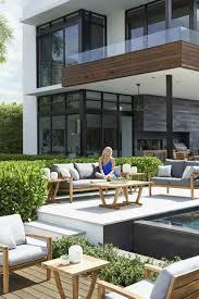 modele de jardin moderne idée jardin et terrasse créer un salon de jardin convivial