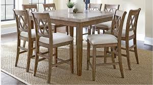 Dining Room Suite Dunedin 9 Piece High Dining Suite Dining Furniture Dining Room