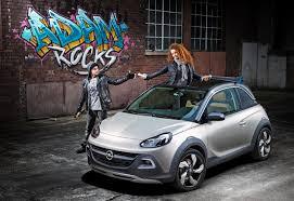 vauxhall adam rocks opel adam rocks city car crossover concept revealed photos 1
