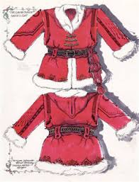 santa claus suit articles
