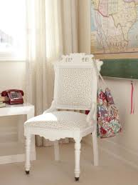 white desk for girls room furniture beautiful desk chairs with upholstered polka dot