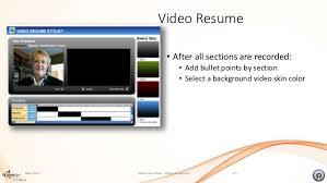 Resume Website Builder Video Resume And Website Builder