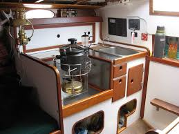 Boat Interior Refurbishment Atom Voyages Frances 26 Project Morris Frances