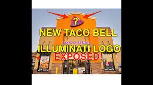 new taco bell illuminati logo exposed must see
