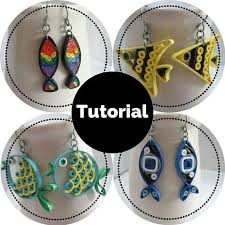 quilling designs tutorial pdf fish earrings diy tutorial for paper quilled jewelry pdf quilling
