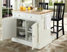 black kitchen island with stools buy butcher block top kitchen island with black x back stools