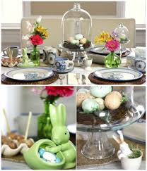 Easter Egg Nest Decorations by Easter Centerpiece Inspirations For Cheerful Table Settings