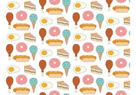 pattern clip art images food background pattern download free vector art stock graphics