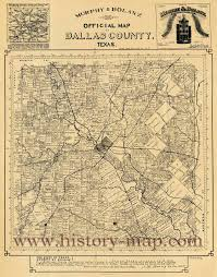 Dallas Map by Of Dallas County