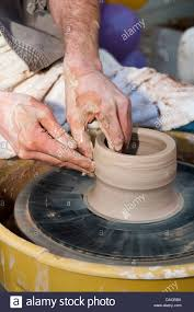 throwing a pot potter throwing a pot stock photo royalty free image 58050030 alamy