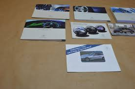 03 06 w211 mercedes e320 e500 e55 owners manual booklet case